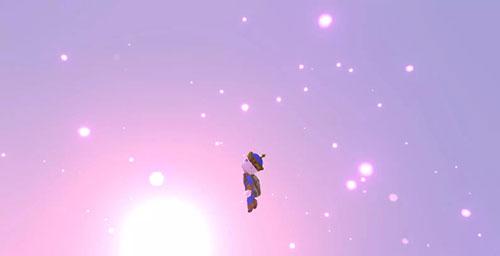 传送门骑士飞出地球