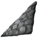 方舟生存进化石制右斜墙