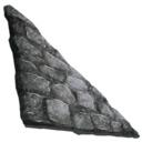 方舟生存进化石制左斜墙