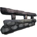 方舟生存进化石制栏杆