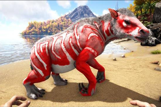 方舟生存进化砂犷兽怎么驯服