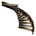 方舟生存进化木制螺旋楼梯