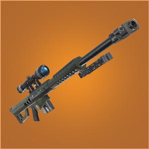 堡垒之夜手游巴雷特重型狙击枪?可穿透板的狙击枪即将上线