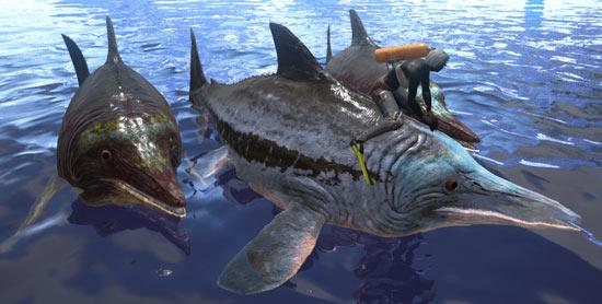 方舟生存进化鱼龙怎么驯服