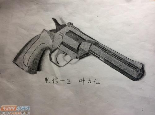 生死狙击玩家手绘-自创副武器