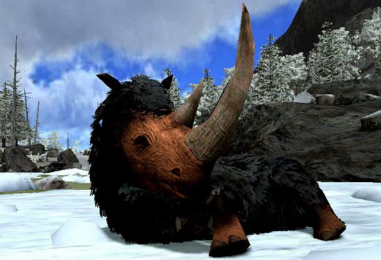 方舟生存进化披毛犀