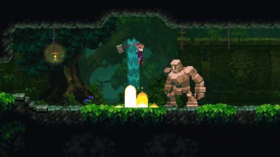 两人研发五年的《Chasm》首日进Steam畅销前十