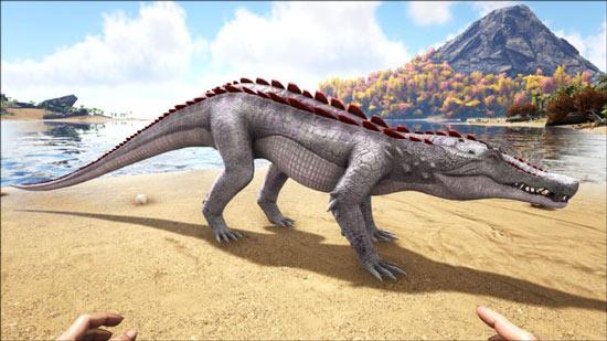 方舟生存进化猪鳄吃什么