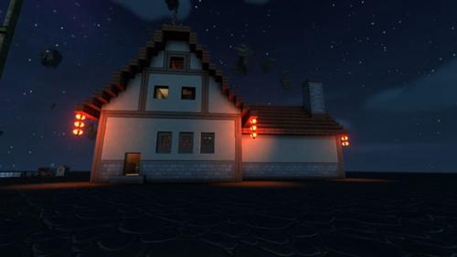 传送门骑士房子设计图
