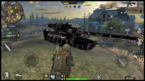 CF手游坦克用法3