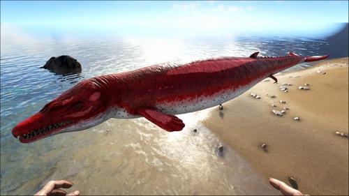 方舟生存进化龙王鲸怎么驯服