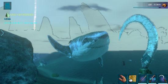 方舟生存进化巨齿鲨吃什么