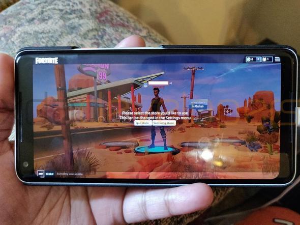 堡垒之夜安卓版试玩视频曝光 流畅度画质同样惊喜