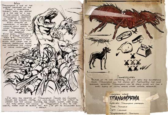 方舟生存进化蚂蚁哪里有