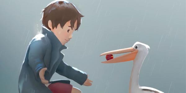 这是《男孩与鹈鹕》带来的超暖心治愈故事
