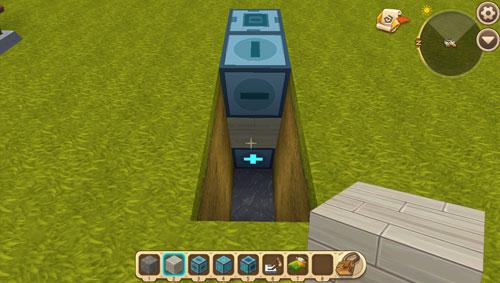 迷你世界双层折叠床2