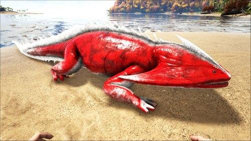 方舟生存进化笠头螈