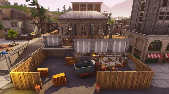 堡垒之夜彩蛋场开工 废弃仓库或将被恢复