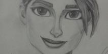 堡垒之夜手游同人作品:女角色素描