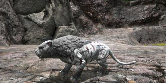 方舟生存进化剑齿虎怎么驯服