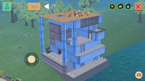 创造与魔法水晶城堡设计图 水晶城堡平面设计图纸