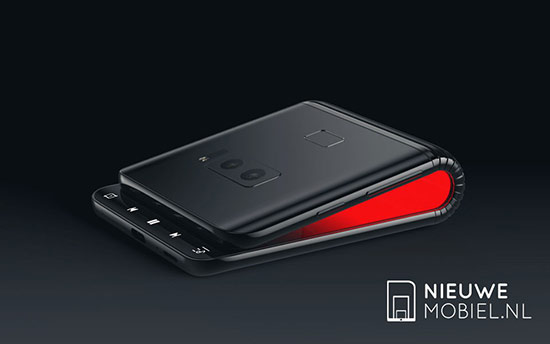 外媒自制三星折叠手机渲染图 再也不用担心摔碎屏幕了?