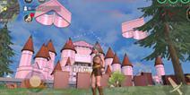 创造与魔法粉红城堡设计图 粉红城堡平面设计图纸