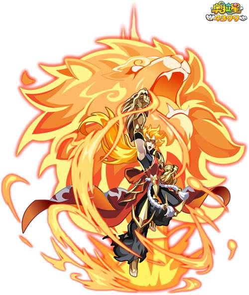 最初的热血魔焰吉拉图片