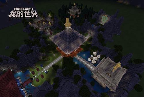 """造梦西游4手机版 游戏资讯 游戏资讯 正文  俯瞰""""造梦西游""""地图全景"""