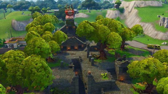 堡垒之夜手游番茄镇被夷为平地 地图又要发生变动