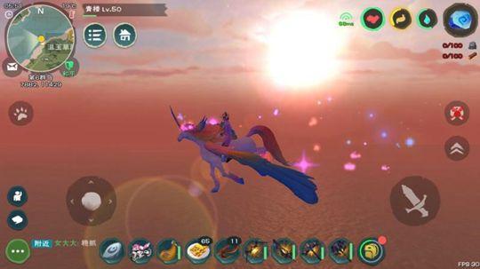 《创造与魔法》骑龙上天,独角兽,飞龙坐骑限时开抢!