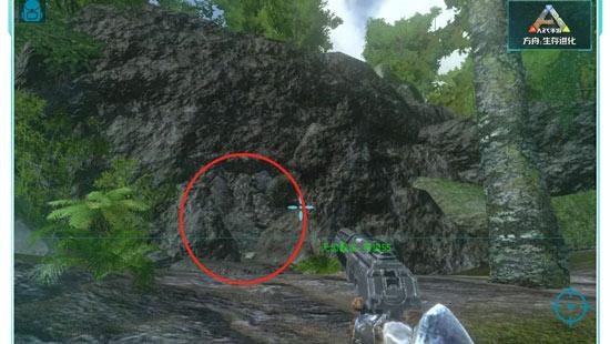 方舟生存进化石头林矿洞