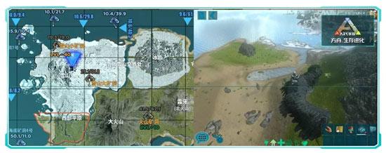 方舟单机怎么换新地图