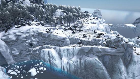方舟生存进化雪山小矿洞