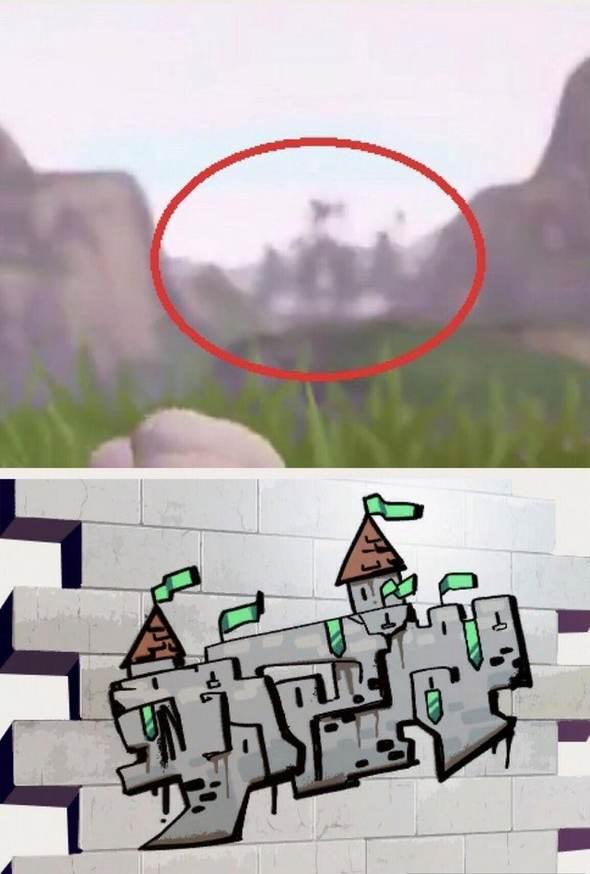 堡垒之夜手游官方泄露新地区 或将有城堡建筑地点