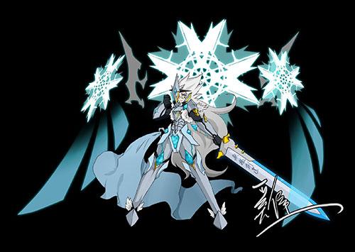 赛尔号自创精灵 瞬光剑神