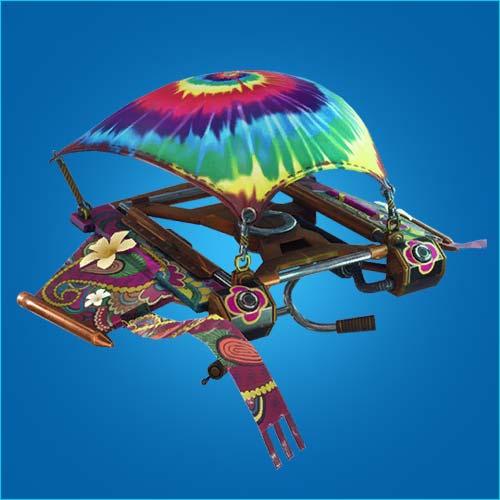 堡垒之夜手游滑翔机扎染风情怎么得 扎染风情滑翔伞介绍