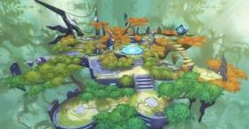 奥拉星手游新场景机甲森林首曝 狐仙故居有哪些精灵