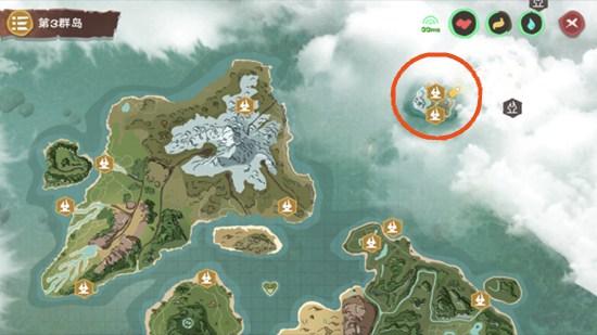 摩艾岛是创造与魔法游戏中的一张老地图,在新地图更新之后,游戏又对老地图进行了复原,摩艾岛就是第一个复原的旧图小岛,下面一起来看看摩艾岛在哪里吧。 摩艾岛在大地图的右上方,与我们的主地图中间隔着一大片海洋,其中包括深海。