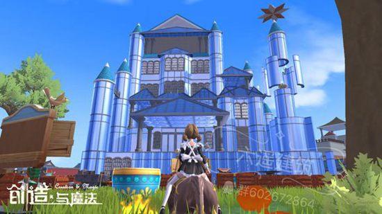 创造与魔法玻璃城堡设计图 玻璃城堡平面设计图纸