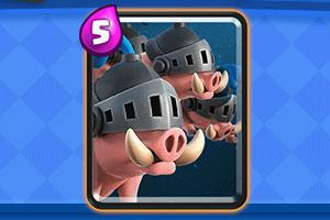 皇室战争皇室野猪