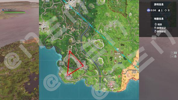堡垒之夜手游野区金三角资源介绍 宝箱及后续打法详解
