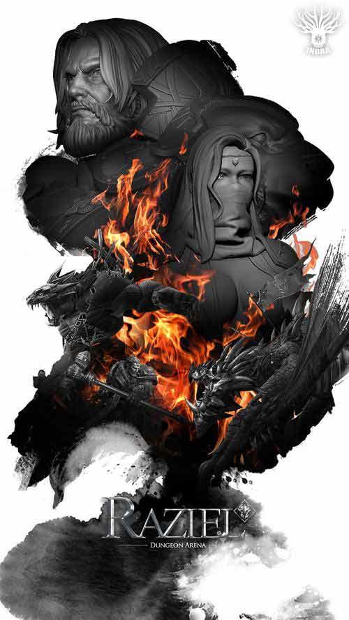 《暗黑之书》正式更名《拉结尔》 暗黑大世界CG震撼首曝