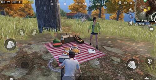 寻找野餐聚点(经典模式)