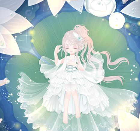 奥比岛仙·睡莲精灵套装图鉴