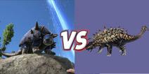 方舟生存进化恐龙对比:甲龙VS星尾兽
