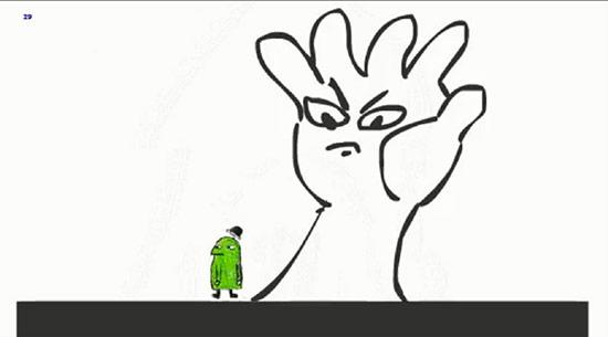 去年火了的《茶杯头》 早期主角形象竟是绿色小人?