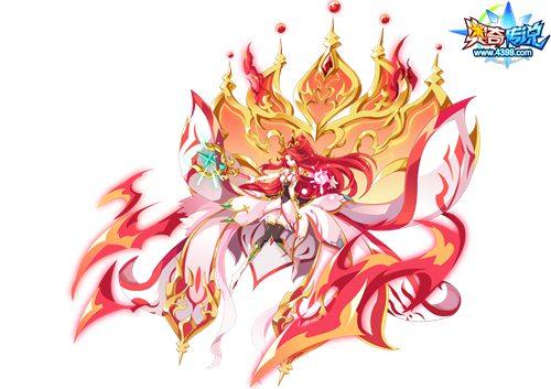 奥奇传说万世红莲末女王图片