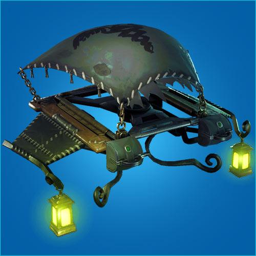 堡垒之夜手游滑翔机灯光怎么得 灯光滑翔伞介绍