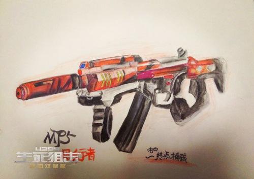 ÉúËÀ¾Ñ»÷Íæ¼ÒÊÖ»æ-MP5·çÐÐÕß